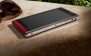 Picture glasses, style, hi-tech, smartphone, Vertu Aster