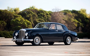 Wallpaper car, auto, Bentley, Continental, beautiful, 1957, nice, chic, Saloon by Mulliner