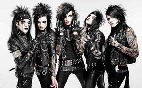Picture ashley, hard rock, heavy metal, jinxx, glam metal, andy, Black Veil Brides, jake