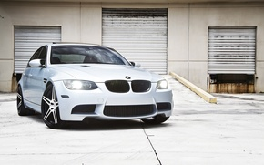 Picture white, lights, BMW, BMW, the MDGs, CRT
