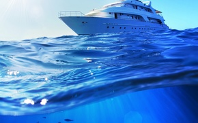 Picture sea, water, photo, yacht