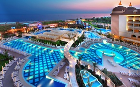 Picture pool, the hotel, Turkey, the area, Antalya, Side
