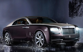 Picture squirt, coupe, Rolls-Royce, limousine