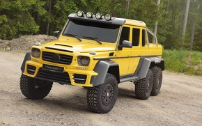 Picture Mercedes-Benz, Mercedes, AMG, Mansory, 6x6, W463, 2015, G 63