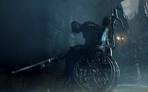 Picture fantasy, action, blood, video games, role, bloodborne, the product