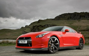 Picture road, machine, auto, Nissan, nissan gt-r cars