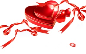 Picture photo, Heart, Tape, Holiday, Valentine's day, Gifts