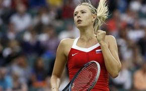 Picture photo, the game, tennis player, Maria Sharapova
