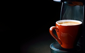 Picture foam, coffee, couples, steam, cup, Coffee, foam, coffee machine, espresso, cream, espresso, a coffee Cup, …