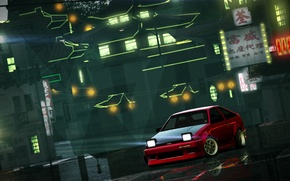 Picture Japan, Toyota Corolla AE86, Need for speed world