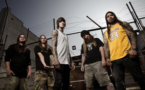 Picture group, metal, Deathcore, Suicide Silence