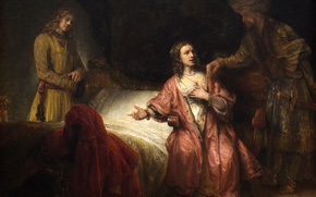 Picture picture, mythology, Rembrandt van Rijn, The Accusation Of Joseph By The Wife Of Poti