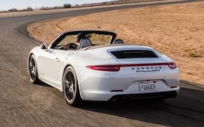 Picture auto, speed, 911, Porsche, wallpaper, auto, Cabriolet, Carrera 4 GTS, doroogh