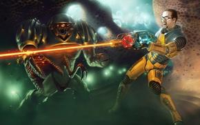 Picture laser, Half-Life, Freeman