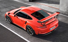 Picture 911, Porsche, GT3 RS, Back