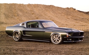 Picture Mustang, 1967, Ford, Mustang, Ringbrothers, Ford