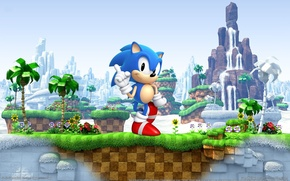 Picture sega, Sonic, video game, Sonic Generations