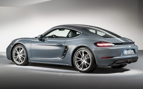 Wallpaper background, coupe, Porsche, Cayman, Porsche, Caiman, 718