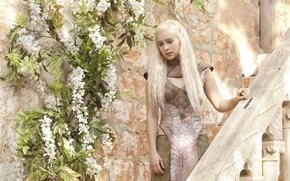 Wallpaper girl, Game Of Thrones, Game of Thrones, Emilia Clarke, Daenerys Targaryen, Emilia Clarke