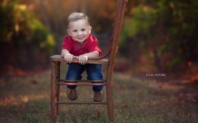 Picture background, boy, chair