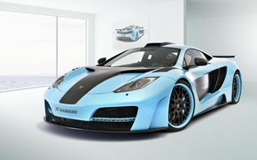 Picture supercar, hamann, tuning, McLaren, mclaren mp4-12c