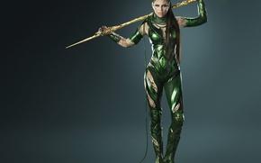 Wallpaper cinema, girl, armor, long hair, weapon, brown hair, movie, evil, film, Power Rangers, Rita Repulsa, ...