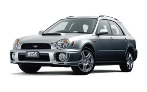 Picture Subaru, Impreza, white background, WRX, Subaru, Impreza