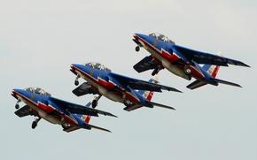 Picture attack, jet, Dornier, easy, Alpha Jet, Patrouille de France