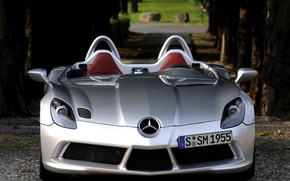 Picture mercedes, slr, moss, stirling