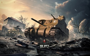 Picture USA, World of Tanks, World Of Tanks, M3 Lee, Wargaming Net, Medium Tank, WoTB, Flash, …