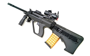 Picture weapons, machine, STEYR Aug