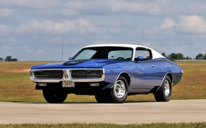 Picture 1971, Dodge, Charger, Super, Hemi, Bee