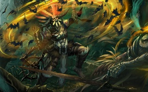 Picture Diablo 3, the sorcerer, spirit, Witch Doctor