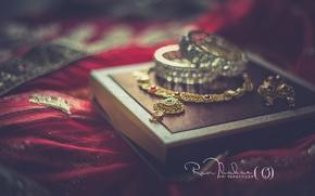 Picture wedding, ornaments, mecro