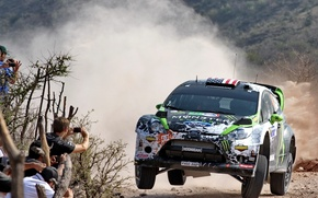 Picture Mexico, Ford, Mexico, Ken Block, Fiesta, People, WRC, Rally, Ford