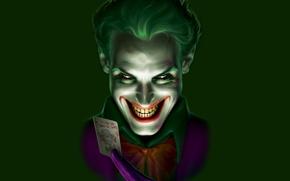 Picture smile, batman, the inscription, map, Batman, Joker, comic, Joker