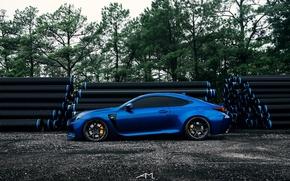 Picture blue, lexus, blue, Lexus, rc