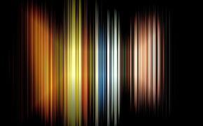 Picture line, color, range