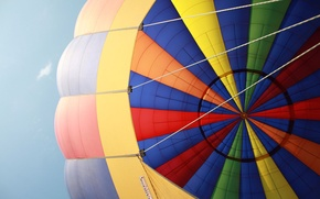 Picture the sky, the view from the basket, Balloon