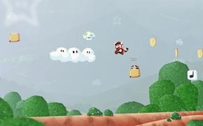 Picture Mario, dendy, orioto videogame remakes, nes