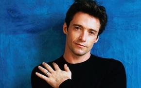 Picture look, male, Hugh Jackman, Hugh Jackman, young