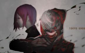 Picture Tokyo Ghoul, Ken Kanek, Kirishima Bring, Gamma (Geoffrey)