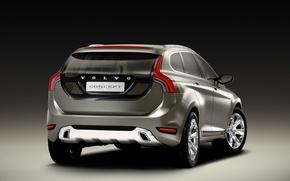 Picture Concept, Volvo, Volvo, Auto, Back, XC60