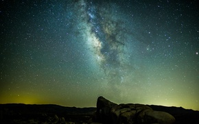 Picture stars, night, panorama, the milky way