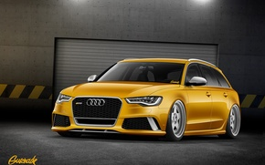 Picture Audi, Audi, by Gurnade, RS 6