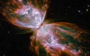 Picture nebula, butterfly, NGC 6302
