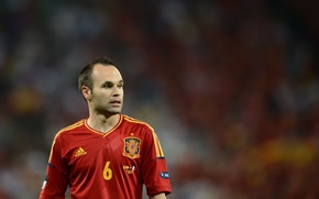 Picture Football, Barcelona, Football, Barcelona, Spain, Player, Andres Iniesta, Andres Iniesta, Player