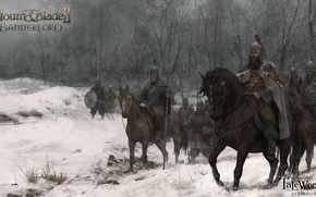 Picture art, riders, army, Mount and Blade 2: Bannerlord, Bannerlord, Mount and Blade 2