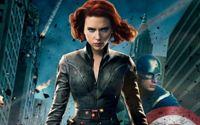 Picture Captain America, Black Widow, The Avengers, The Avengers, Scarlet, Black widow