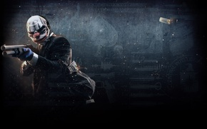 Picture heist, Payday 2, payday, Chains